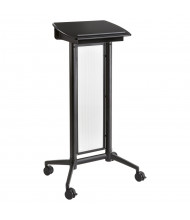 Safco Impromptu Mobile Lectern (Shown in Black)