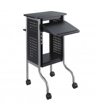 Safco Scoot Mobile Presentation Cart (Shown in Black)