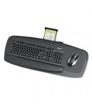"""Safco Premier 21"""" Track Keyboard Platform, Black"""