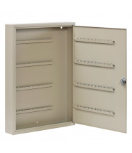 Buddy Products 200 Key Tag Slot Key Cabinet, Putty 1200-6