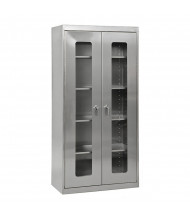 Sandusky Stainless Steel Storage Cabinets, Assembled
