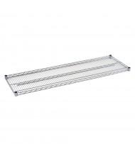 """Sandusky Extra Wire Shelf for 18"""" D x 60"""" W Heavy Duty Chrome Wire Shelving Units"""