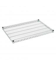 """Sandusky Extra Wire Shelf for 24"""" D x 36"""" W Heavy Duty Chrome Wire Shelving Units"""