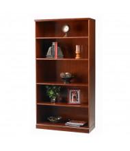 Mayline Sorrento SB5 5-Shelf Bookcase (Shown in Bourbon Cherry)