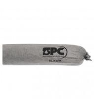 """SPC Slikwik Socs 2 qt. Sorbent Sock, 3"""" W x 42"""" L, Grey, 40/Pack"""