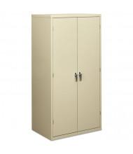 """HON Brigade SC2472L 36"""" W x 24"""" D x 72"""" H Storage Cabinet in Putty, Assembled"""