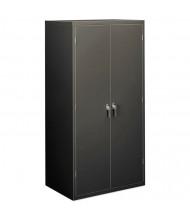 "HON Brigade SC2472S 36"" W x 24"" D x 72"" H Storage Cabinet in Charcoal, Assembled"