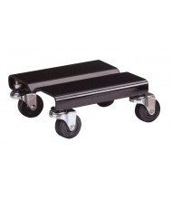 "Vestil SDOL-2 500 lb. Steel 8"" x 8"" Dolly (Set of 2)"