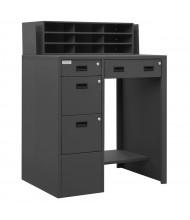 Durham Steel 4-Drawer Steel Workbench Standing Desk