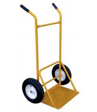 Vestil SITE-C Dual Handle Rough Terrain Site Cart Hand Truck, Pneumatic