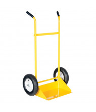 Vestil SITE-C Dual Handle Rough Terrain Site Cart Hand Truck, Pneumatic Wheels