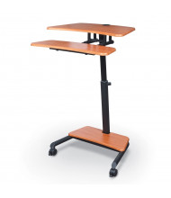 Balt Up-Rite Mobile Adjustable Height Sit Stand Workstation