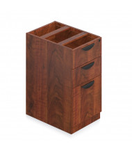 Offices to Go SL22BBF 3-Drawer Box/Box/File Suspended Credenza Pedestal (Shown in Dark Cherry)