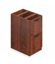 Offices to Go SL22FF 2-Drawer File/File Suspended Credenza Pedestal (Shown in Dark Cherry)