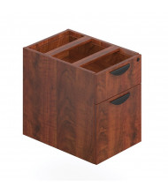 Offices to Go SL22HBF 2-Drawer Box/File Suspended Pedestal (Shown in Dark Cherry)