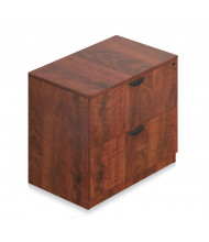 "Offices to Go SL3622LF 36"" W 2-Drawer Lateral File (Shown in Dark Cherry)"