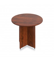 "Offices to Go 36"" Round Conference Table (Shown in Dark Cherry)"
