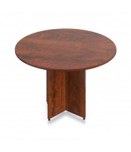 """Offices to Go 48"""" Round Conference Table (Shown in Dark Cherry)"""