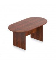 Offices to Go 6 ft Racetrack Conference Table (Shown in Dark Cherry)