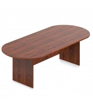 Offices to Go 8 ft Racetrack Conference Table (Shown in Dark Cherry)