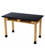 """NPS 36"""" H Chemical Resistant Book Compartment Science Lab Tables"""