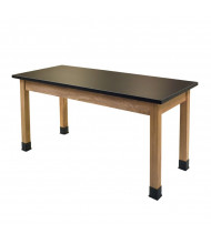 "NPS 36"" H Chemical Resistant Science Lab Table"