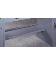 "Tennsco SM-42 Lower Shelf for 72"" W Top Modular Electronic Workbenches - Shown in Medium Grey"