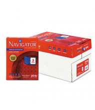 "Navigator 8-1/2"" X 11"", 20lb, 5000-Sheets, 3-Hole Punched Multipurpose Copy Paper"