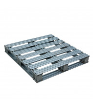Vestil 8000 lb Capacity Galvanized Steel Pallet (SPL-3636)