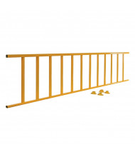 "Vestil 120"" L Semi-Permanent Barrier Railing, Yellow SPR-120-Y"