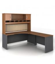 Bush Series C SRC002 Corner Office Desk Set, Right Return (Shown in Auburn Maple)
