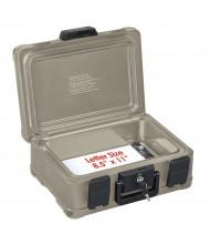 FireKing SS103 SureSeal 1/2-Hour Fire 0.27 cu. ft. Key Lock Data Safe