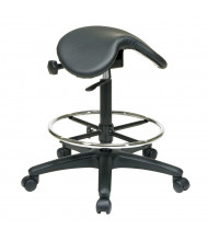 Office Star Work Smart Saddle Seat Stool