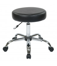 Office Star Work Smart Pneumatic Vinyl Seat Stool