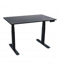 Luxor Height Adjustable Standing Desk, (Shown in Black Oak)