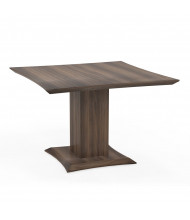 "Mayline Sterling STC42 42"" Square Conference Table (Shown in Brown)"