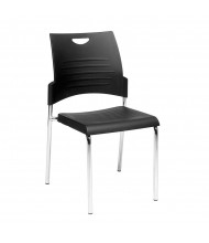 Office Star 28-Pack Straight Leg Plastic Stacking Chair