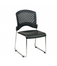 Office Star 30-Pack Ventilated-Back Sled Base Plastic Stacking Chair