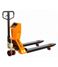 "Mighty Lift SPT50 4400 lb Load Scale Pallet Jack 27""W x 48""L"