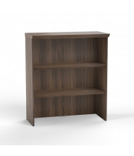 Mayline Sterling STSCB3 2-Shelf Bookcase (Shown in Brown)
