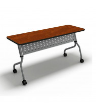 "Mayline Sync SY1860T 60"" W x 18"" D Nesting Training Table (Shown in Cherry)"