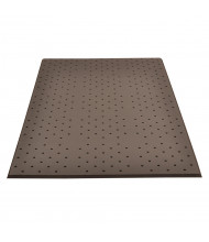 NoTrax T17 Superfoam Sponge Back Rubber Anti-Fatigue Floor Mats (Shown in Perforated, Black)