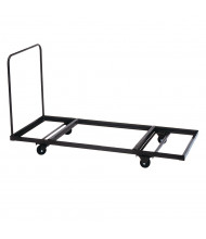Correll T3096 Flat Stacking Table Cart for 12 - 16 Rectangular Folding Tables