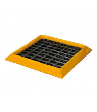 Eagle Drum HDPE Grate SpillNest Spill Containment Trays (1-drum model)