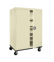Sandusky Transport Mobile Storage Cabinets, Assembled (Shown in Putty)