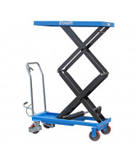"Eoslift 770 lb Load 62.4"" Lift Hydraulic Dual Scissor Lift Table 21"" x 40"""