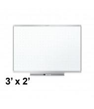 Quartet TE543AP2 Prestige 2 Total Erase 3 x 2 Aluminum Frame Melamine Whiteboard