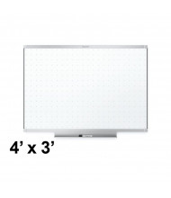 Quartet TE544AP2 Prestige 2 Total Erase 4 x 3 Aluminum Frame Melamine Whiteboard