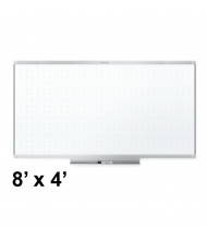 Quartet TE548AP2 Prestige 2 Total Erase 8 ft. x 4 ft. Silver Frame Melamine Whiteboard