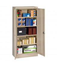 "Tennsco 30"" W x 15"" D x 66"" H Assembled Standard Storage Cabinet (Shown in Sand)"